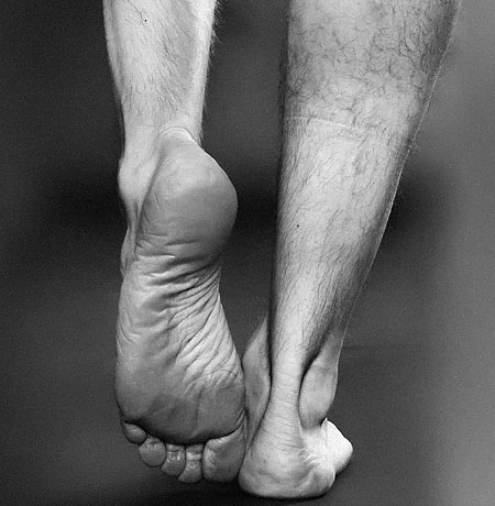 Try Training Barefoot in a Controlled Environment