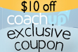 CoachUp: $10 OFF COUPON