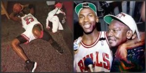 Michael Jordan and dad - CoachUp - Jackie Bledsoe, Jr.