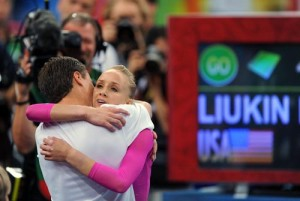 Nastia Luikin and dad Beijing 2008 - CoachUp - Jackie Bledsoe, Jr.