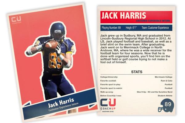 Jack H CoachUp Spotlight