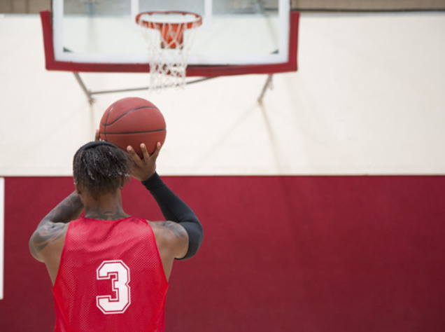 a look at the free throw in basketball Free throw is a basketball throw from the free-throw line from either personal, technical, unsportsmanlike or disqualifying fouls each free-throw made is worth one.